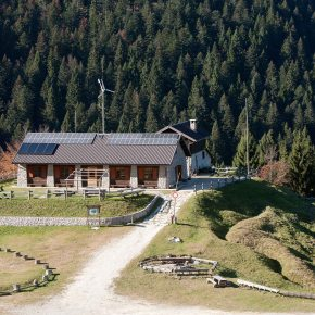 Monte Grappa - Centro didattico ambientale Aula Verde Valpore